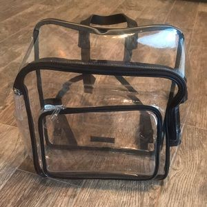 Vince Camuto Clear Backpack 🎒 New $88